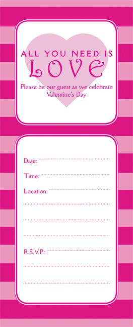 Valentines Day Party Invitation, VPIT-01_No10