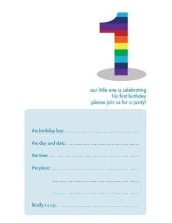 Children's Birthday Party Invitation - KBIF-06