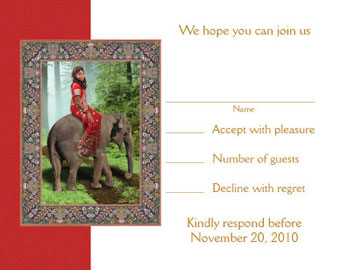 Bollywood Invitation for Sweet 16