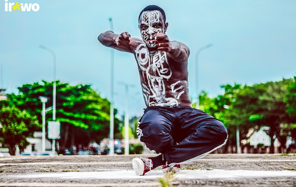 Yann Astro, a dance warrior !