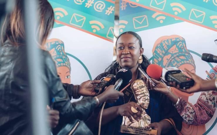 Caamo Kane, 3e prix du Linguère Digital Challenge