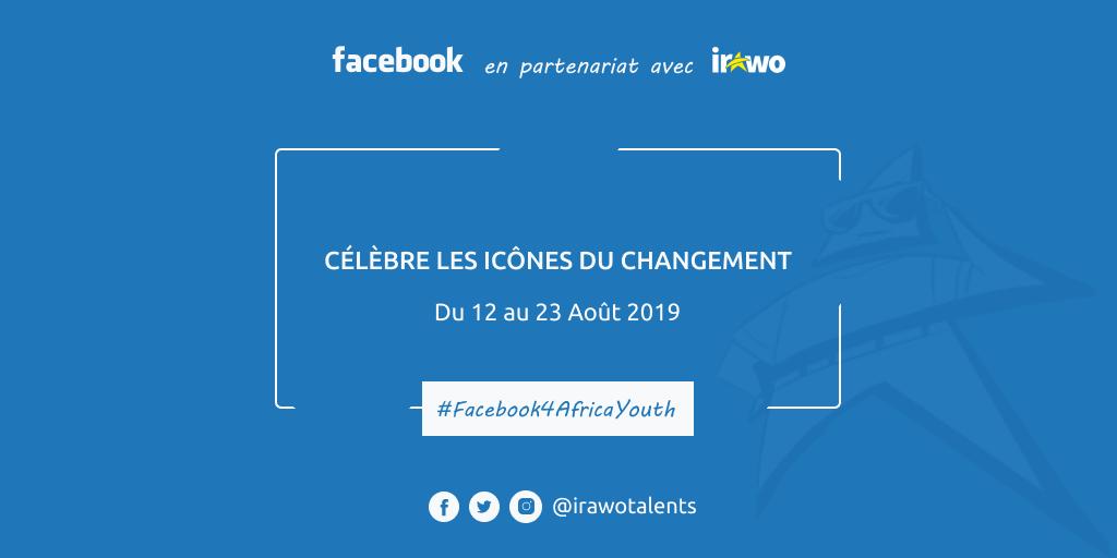 Facebook célèbre les icônes du changement en Afrique