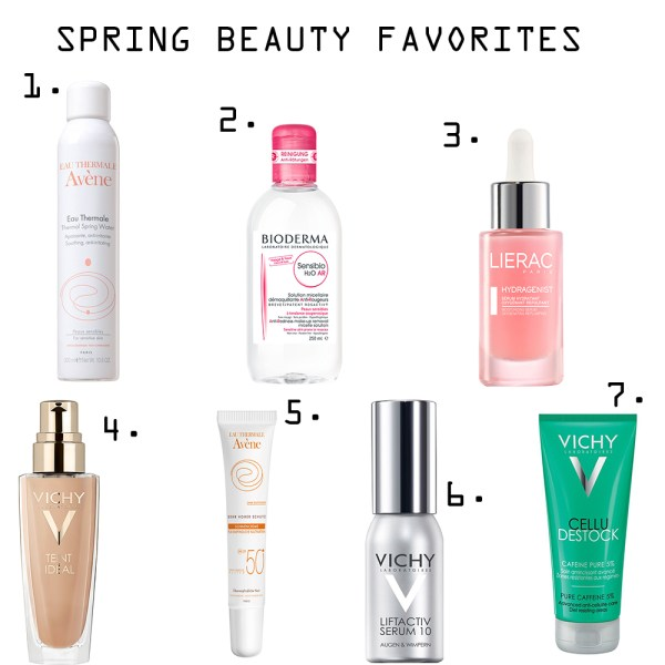 spring-beauty-favorites