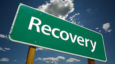 What are the typical steps in debt recovery?