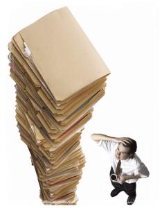 File piles