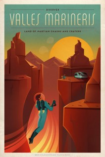 posters space x mars exploration