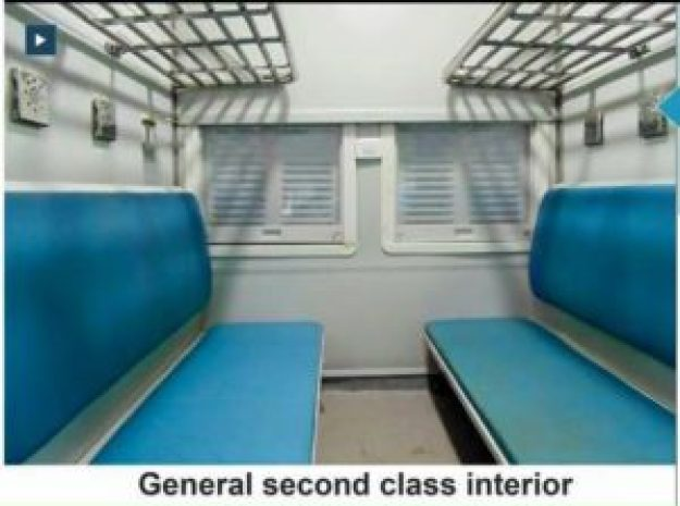 General Second Class Interior