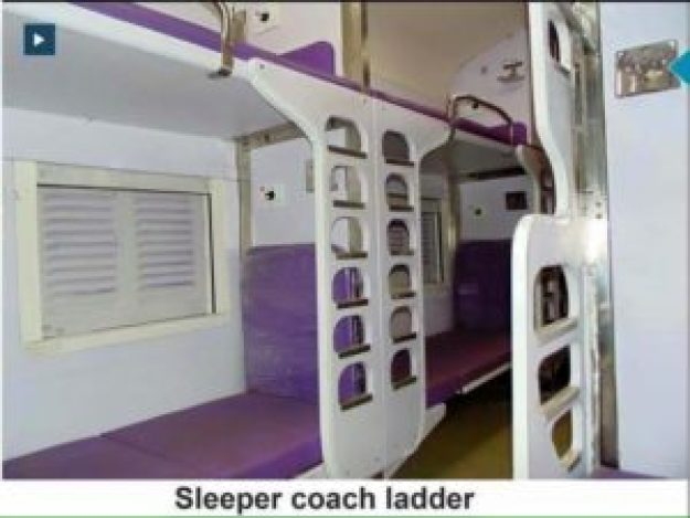 Sleeper Coach Ladders