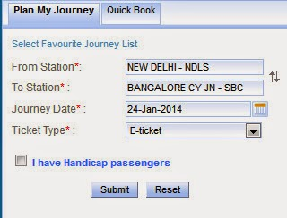 irctc login plan my travel example