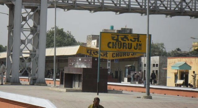 02086 Churu Sikar Passenger Train