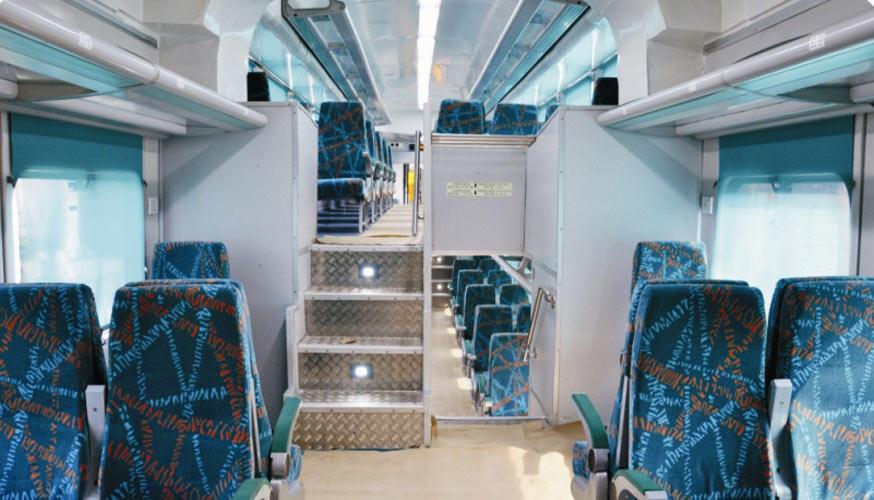 double decker dd seat by indian railways