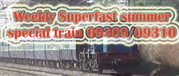 09310 Indore to Kochuvelli Weekly Suvidha SF Special train