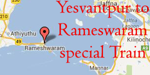 06545 yesvantpur to rameswaram special train