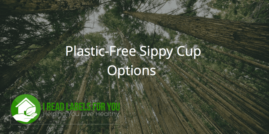 plastic-free sippy cup