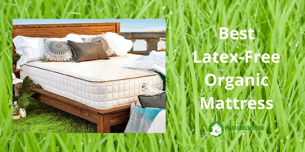 Best Latex-Free Organic Mattress. A photo of a latex-free mattress.