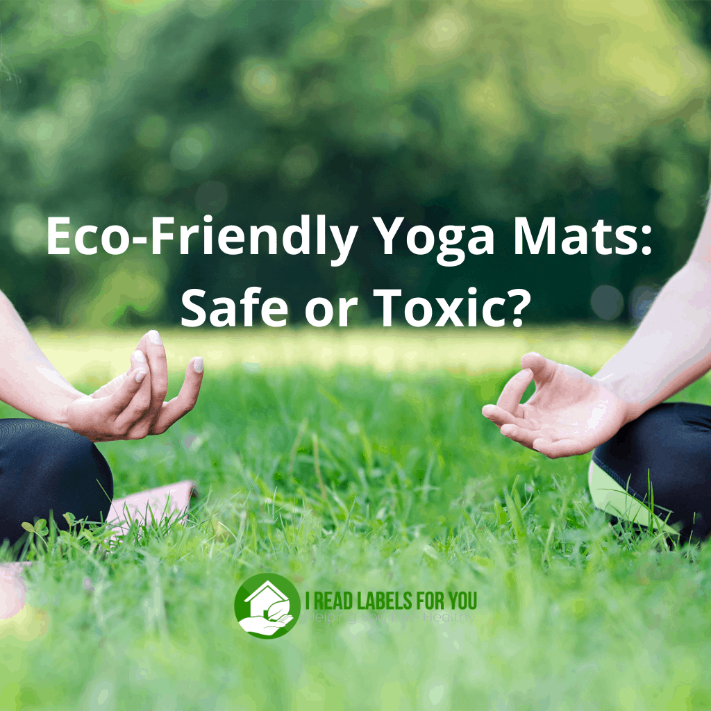Eco-Friendly Yoga Mats: Safe or Toxic? A picture of yogi sitting on sustainable yoga mats.