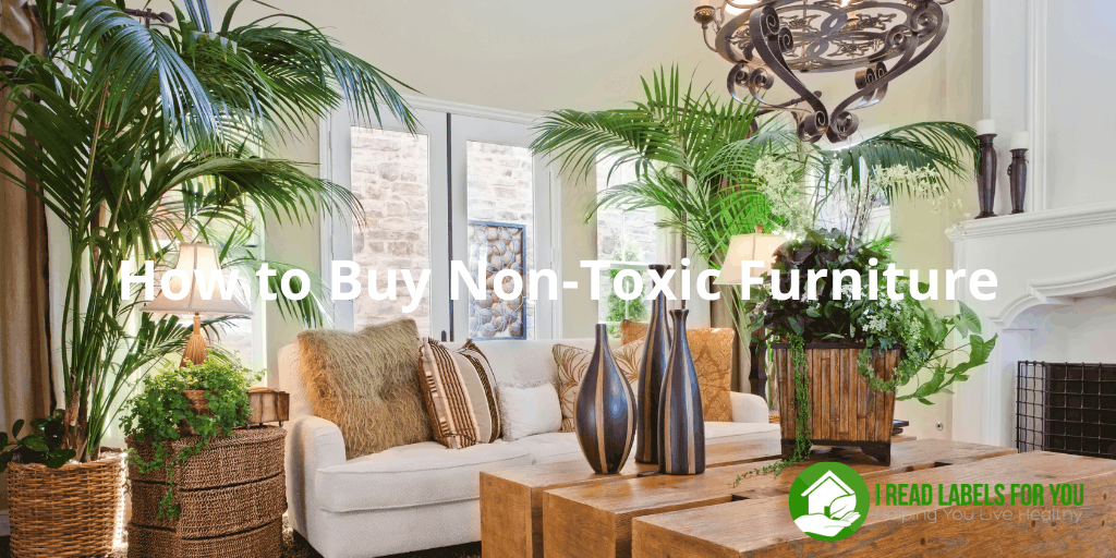 How to Buy Non-Toxic Furniture. A photo of a non-toxic couch.