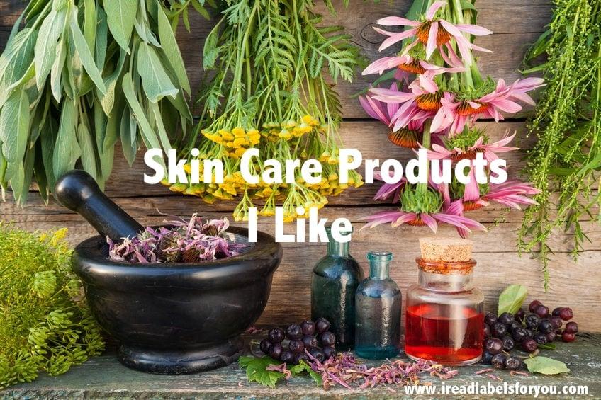 plant-based skincare product i like