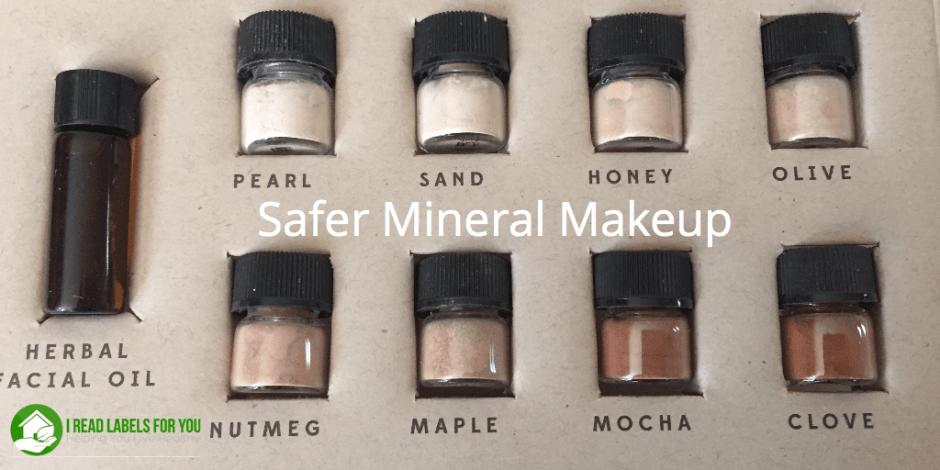 Safer Mineral Makeup Foundation