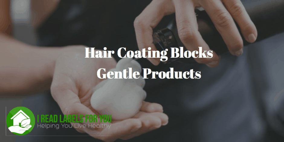 Hair Coating Blocks Gentle Color Products