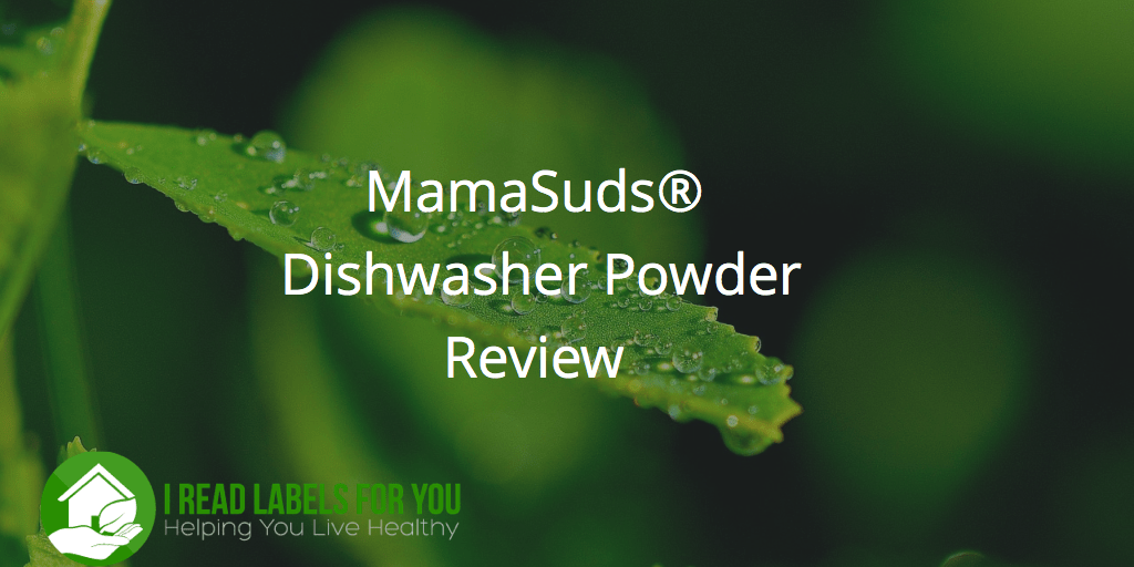 MamaSuds Dishwasher Powder