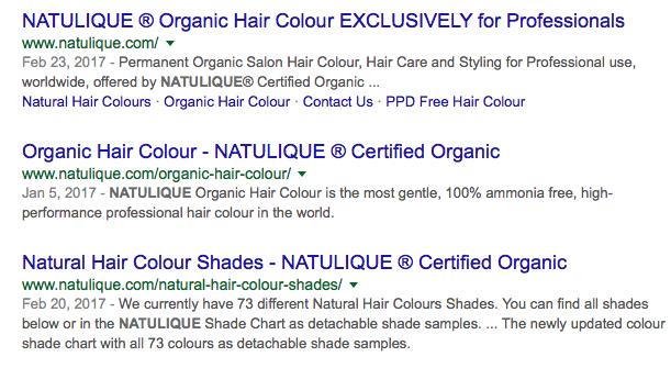Natulique Hair Color Ingredients