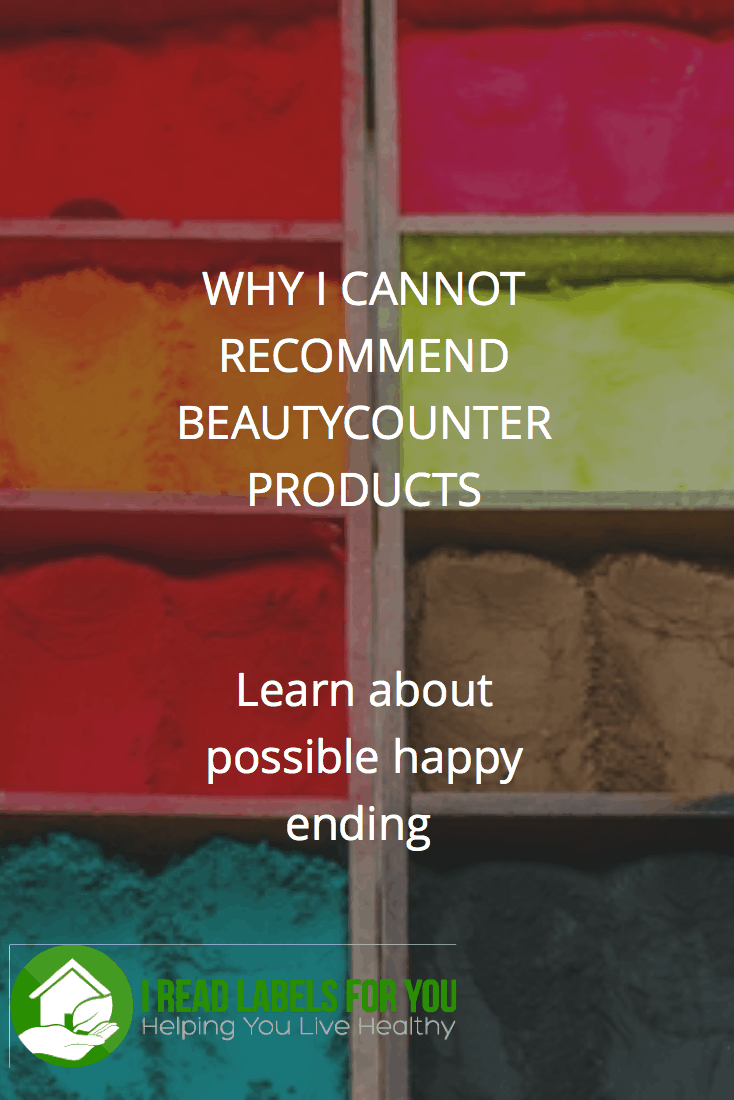 Why I cannot recommend Beautycounter products