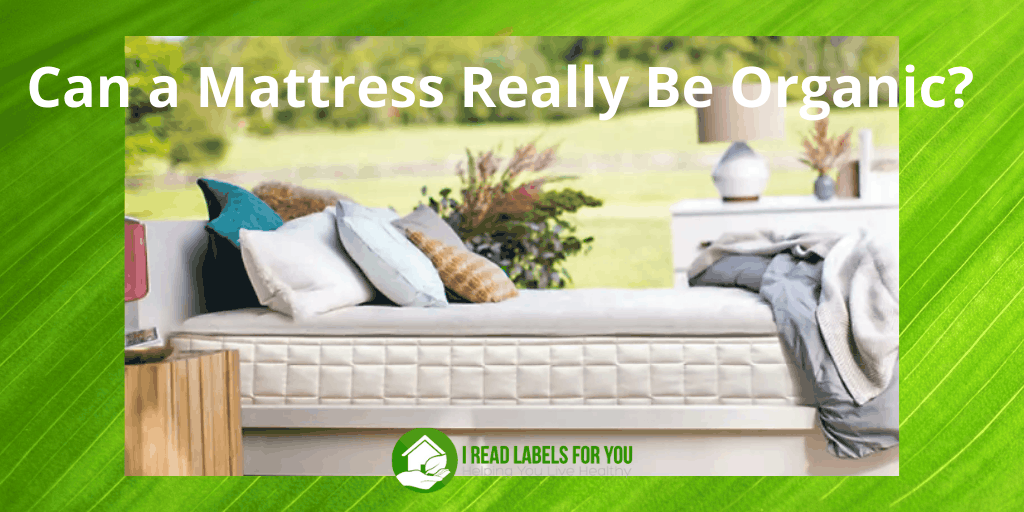 Can a Mattress Really Be Organic. A picture of a healthy mattress.