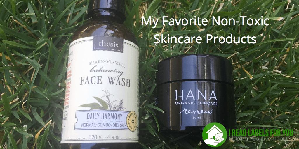 non-toxic skincare organic skincare