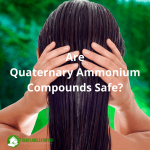 Are Quaternary Ammonium Compounds Safe? A photo of a woman who washes her hair with a shampoo containing quats.