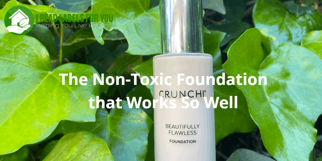 The non-toxic foundation. A photo of Crunchi beautifully flawless foundation.