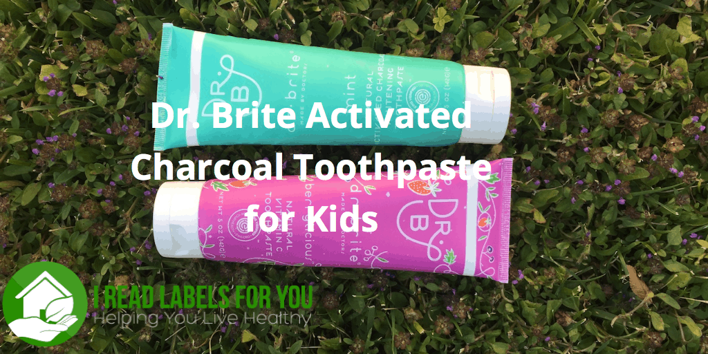 Dr.Brite Activated Charcoal Toothpaste for Kids
