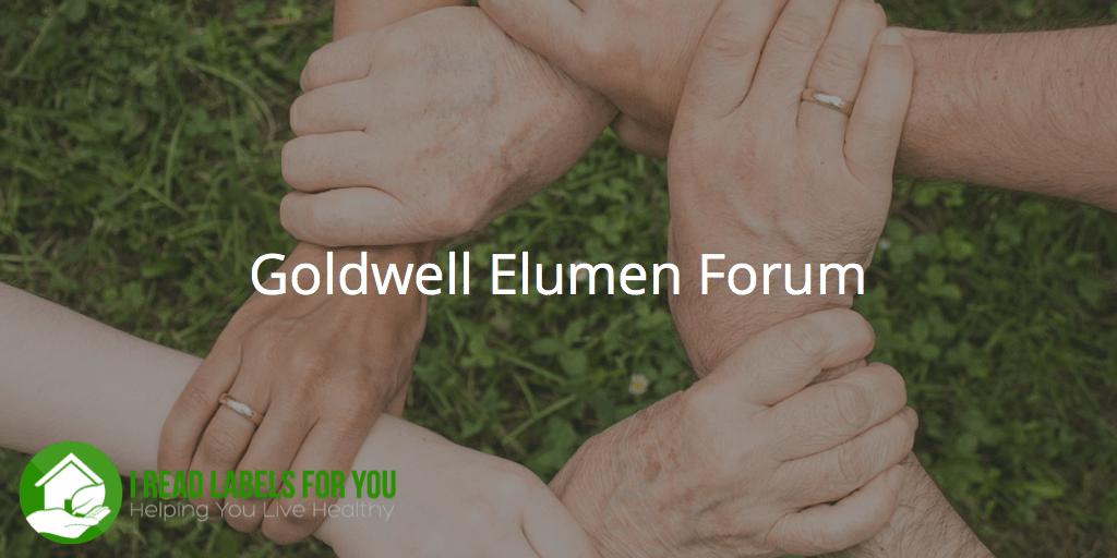 Goldwell Elumen Forum