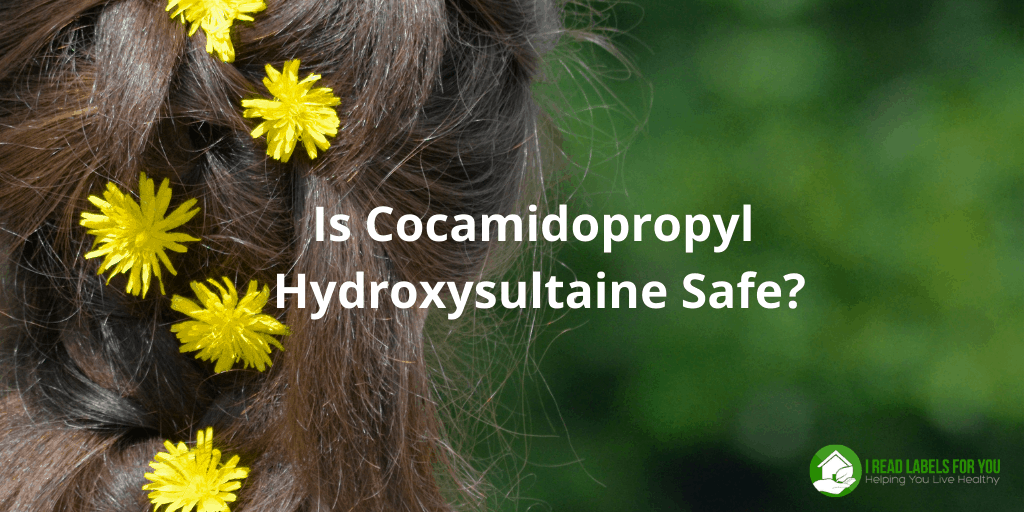Are Cocamidopropyl Hydroxysultaine and cocamidopropyl betaine safe? A picture of a woman with flowers in the hair.