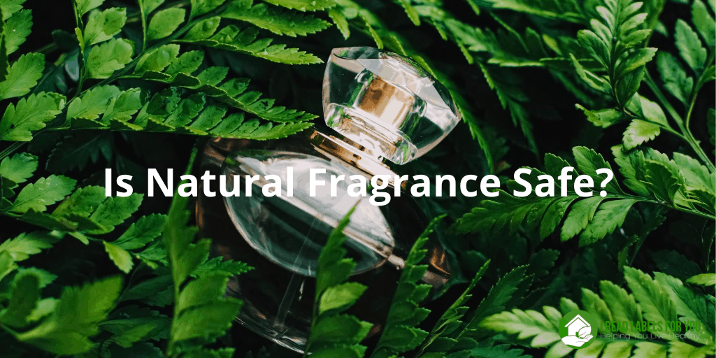 Is Natural Fragrance Safe? A picture of a perfume bottle with synthetic fragrance.