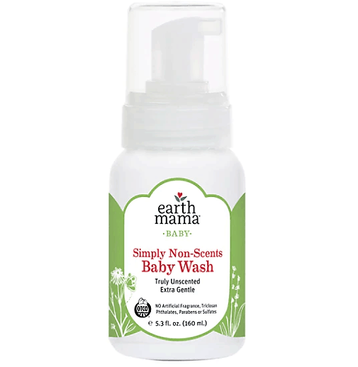 Earth Mama Unscented Castile Baby Wash