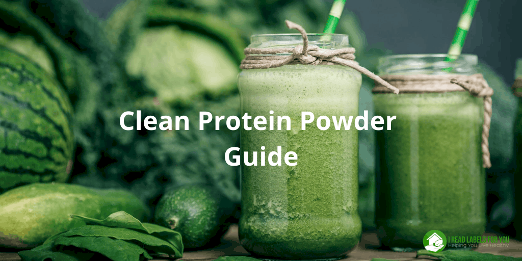 Clean Protein Powder Guide. A photo of a smoothie with safe levels of heavy metals in protein powders.