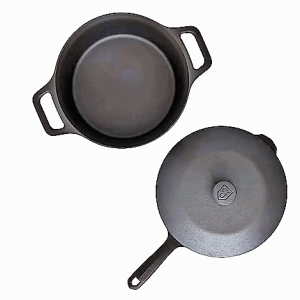 Field Cast Iron Cookware skillet and oven