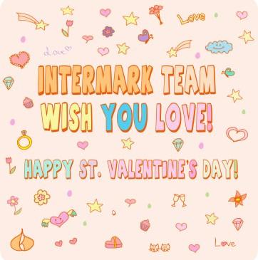 14 feb st. Valentin's day