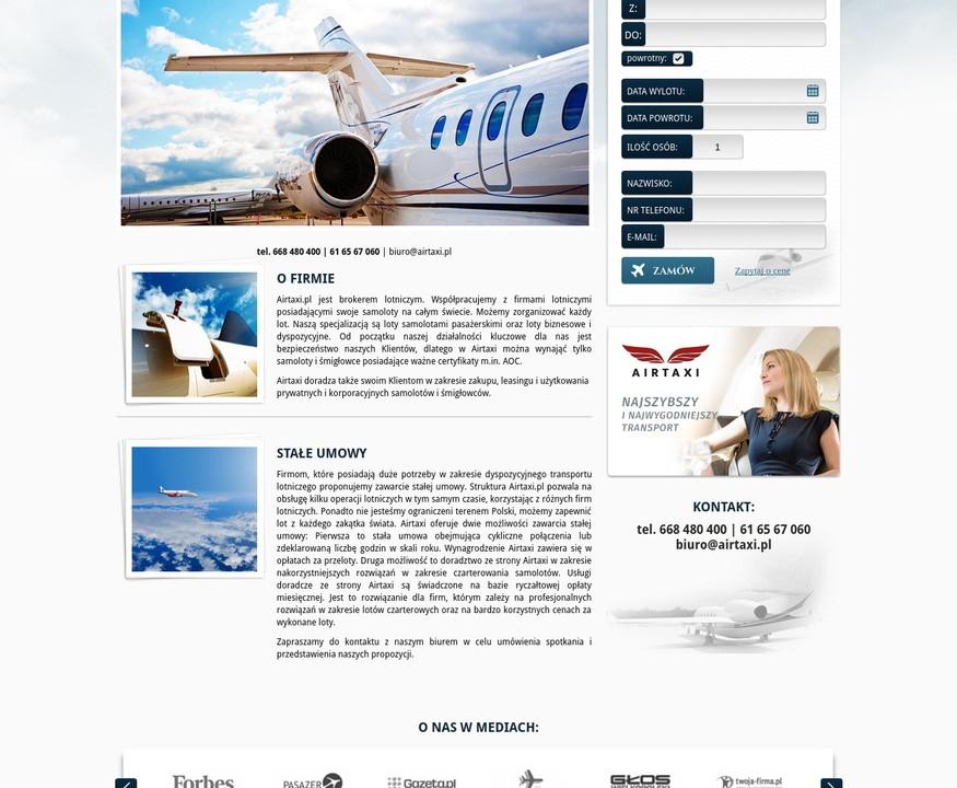 Website Airtaxi