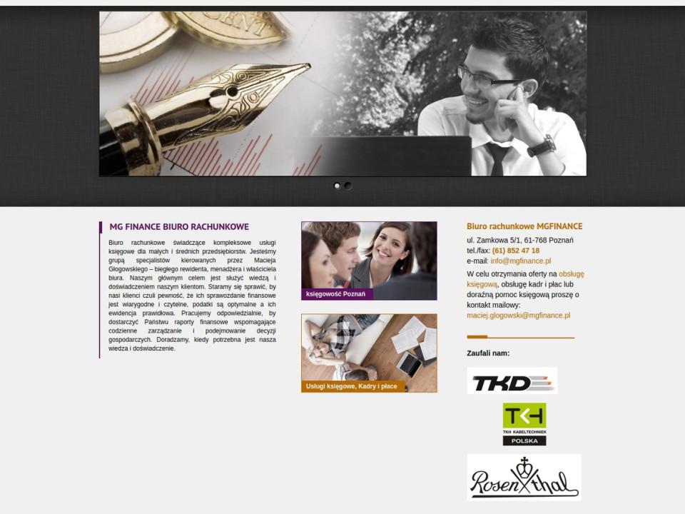 Website MgFinance
