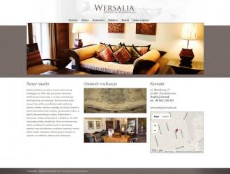 Strona internetowa Wersalia