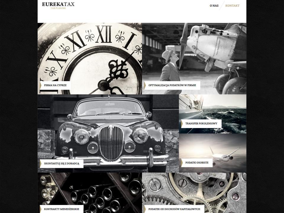Strona internetowa EurekaTax