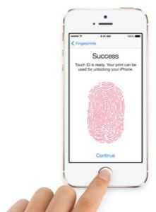 Apple Touch ID Security