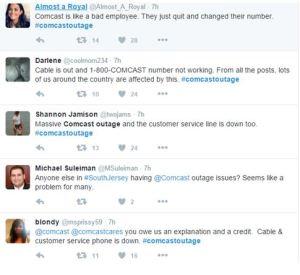 Comcast customer complaints