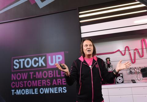 T-Mobile CE) John Legere