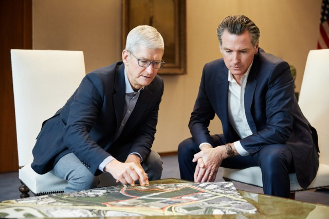 Apple CEO Tim Cook discusses company's land in San Jose for affordable housing