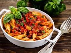 Macarrones con carne y verduras