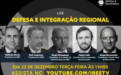 Live do ID&S: Defesa e Integração Regional