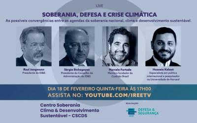 Webinar: Soberania, Crise Climática e a Agenda do Governo Biden